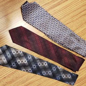 Three Van Heusen beautiful ties all for 25.00